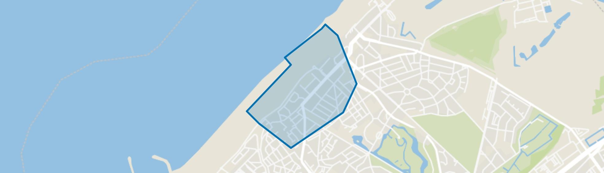 Scheveningen Badplaats, Den Haag map