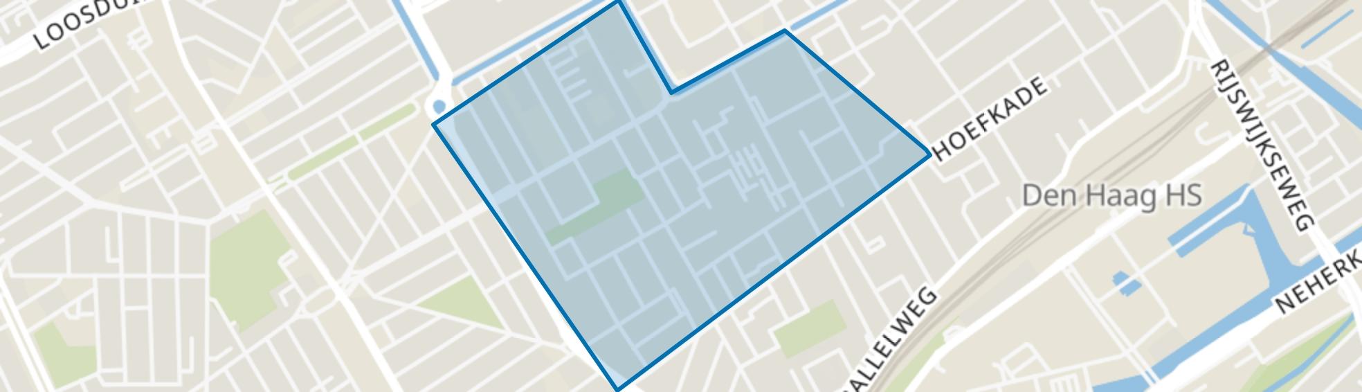 Schildersbuurt-Noord, Den Haag map