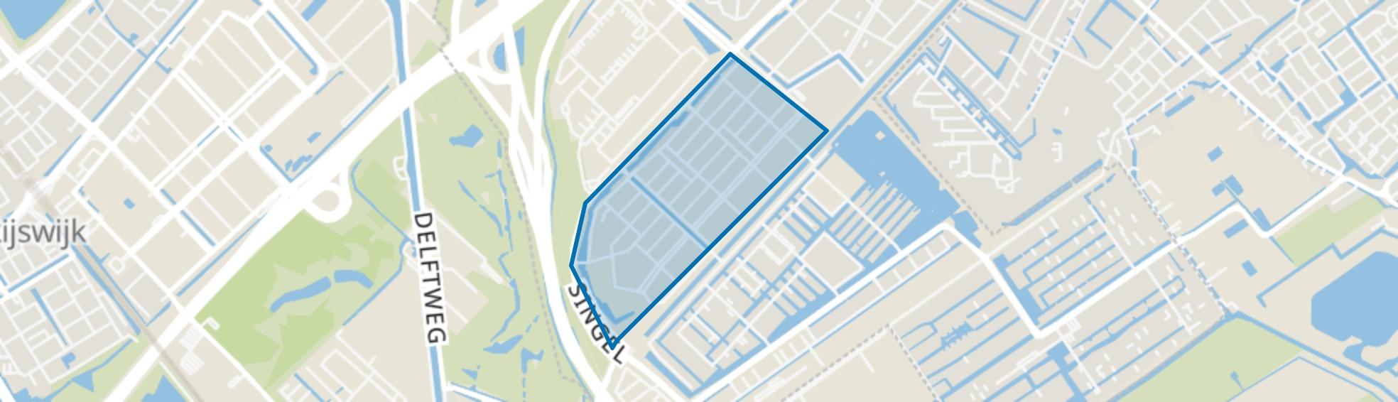 Singels, Den Haag map