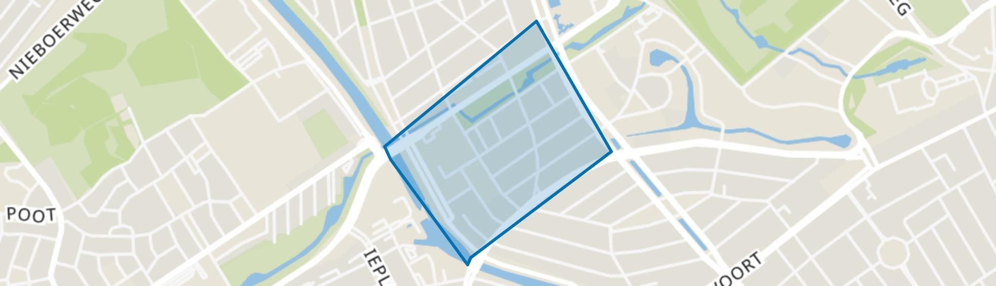 Stadhoudersplantsoen, Den Haag map
