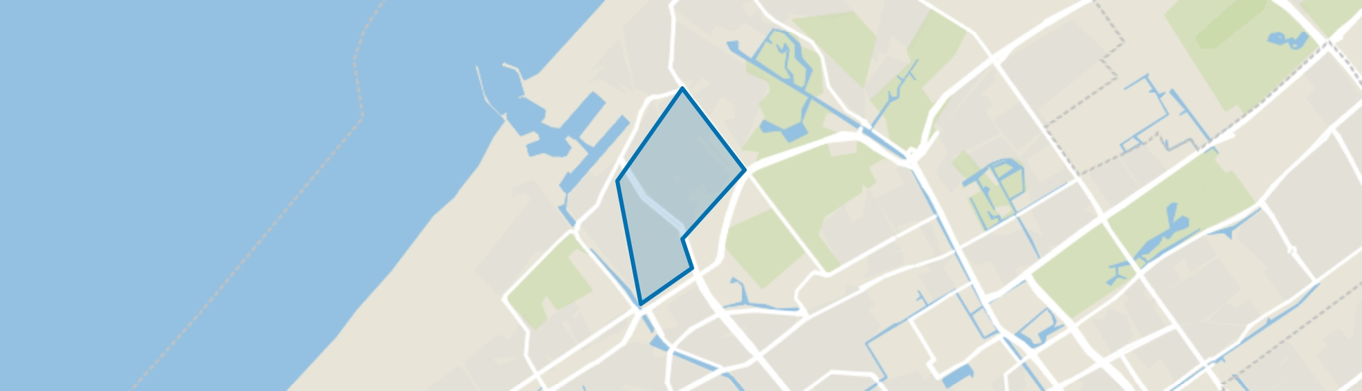 Statenkwartier, Den Haag map