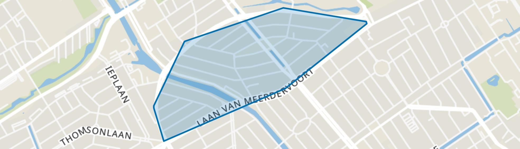 Sweelinckplein en omgeving, Den Haag map