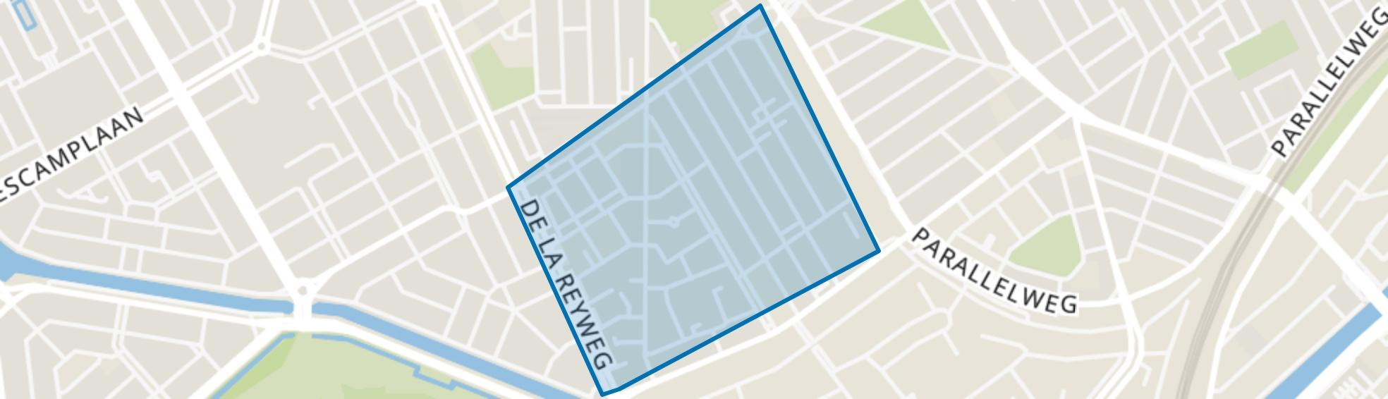 Transvaalkwartier-Zuid, Den Haag map