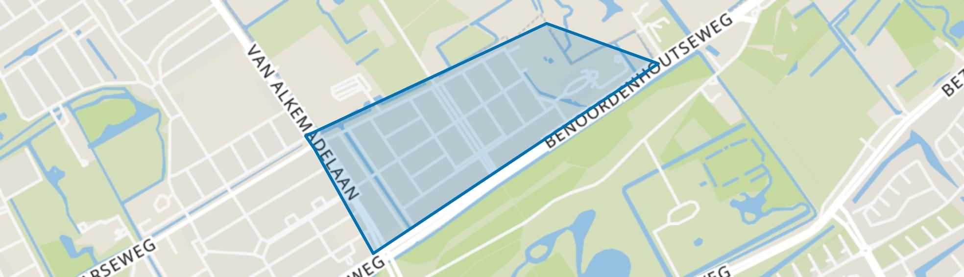 Uilennest, Den Haag map