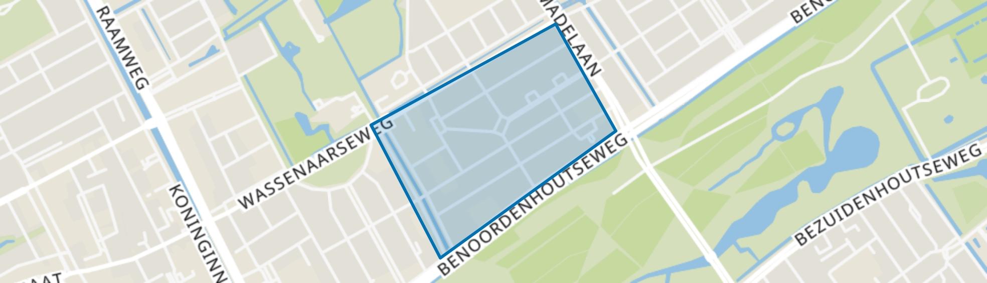 Van Hoytemastraat en omgeving, Den Haag map