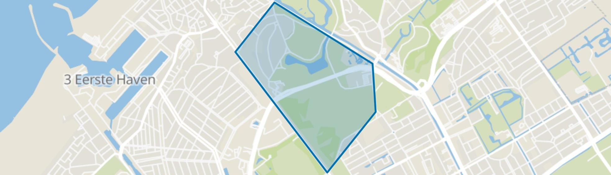 Van Stolkpark en Scheveningse Bosjes, Den Haag map