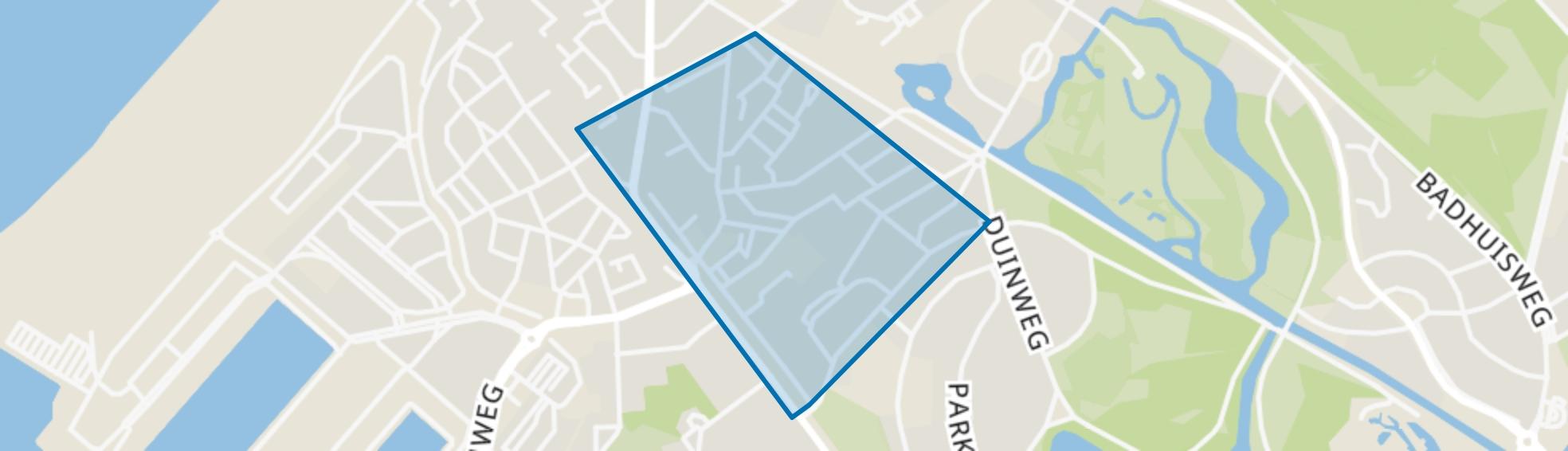Visserijbuurt, Den Haag map