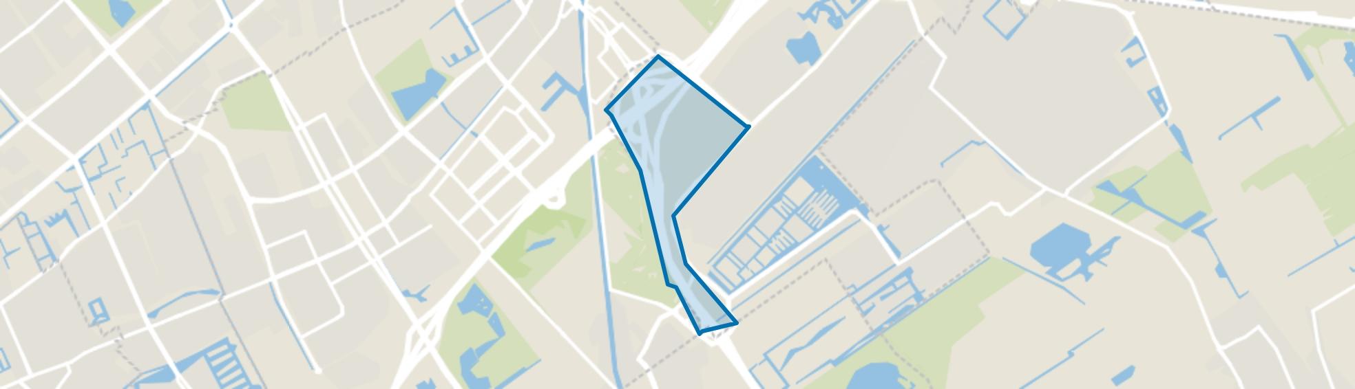 Vliegeniersbuurt, Den Haag map
