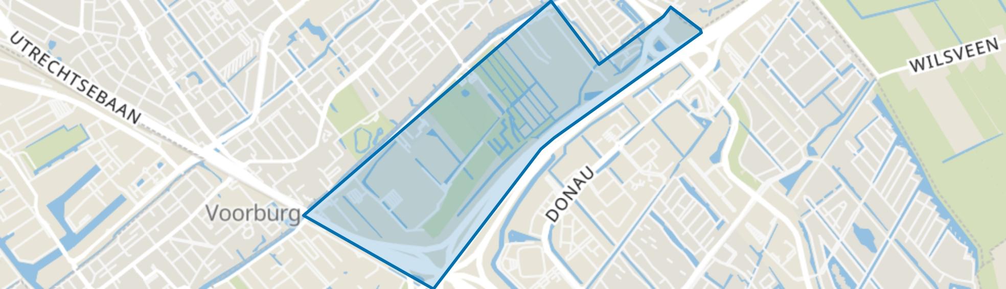 Vlietzoom-Oost, Den Haag map
