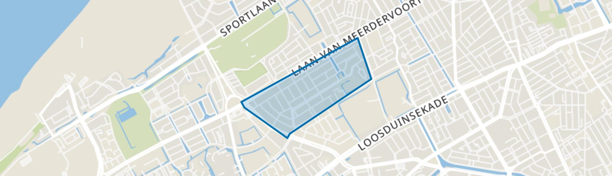 Vruchtenbuurt, Den Haag map
