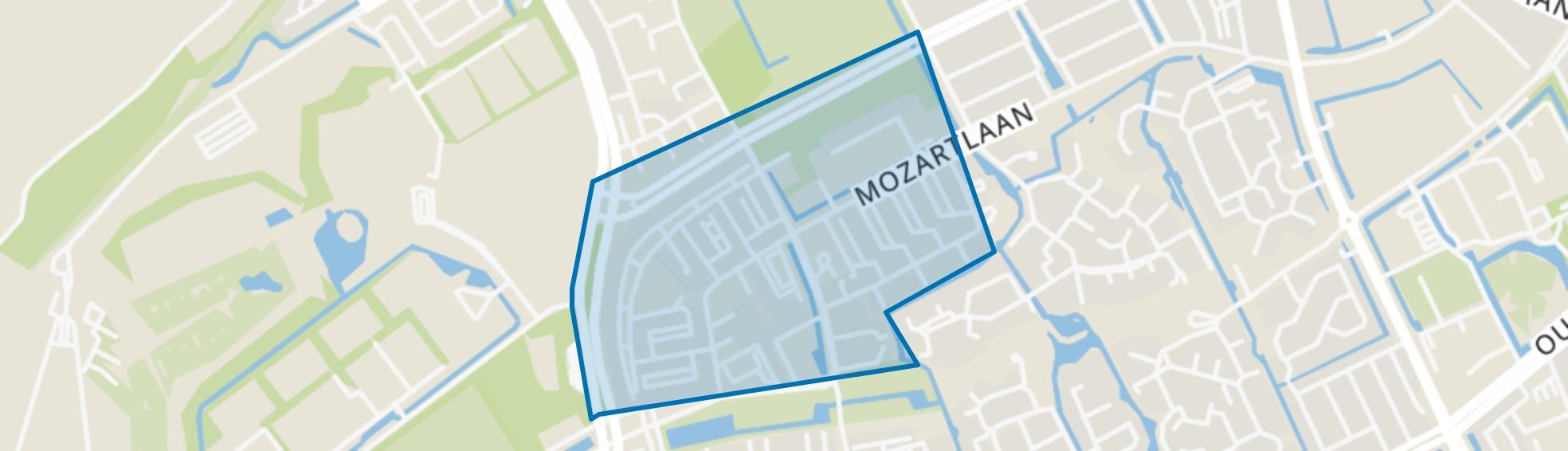 Waldeck-Noord, Den Haag map