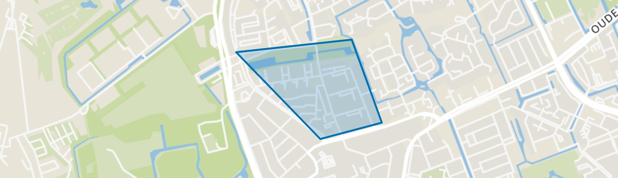 Waldeck-Zuid, Den Haag map