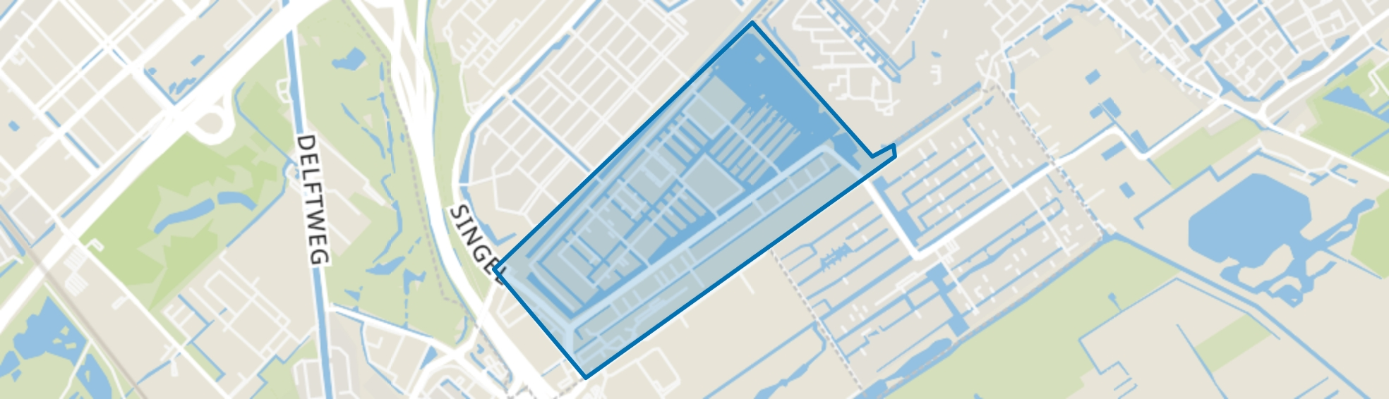 Waterbuurt, Den Haag map