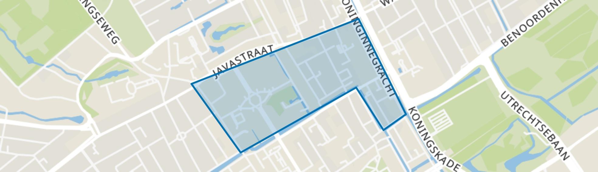 Willemspark, Den Haag map