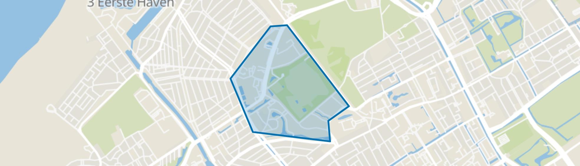 Zorgvliet, Den Haag map