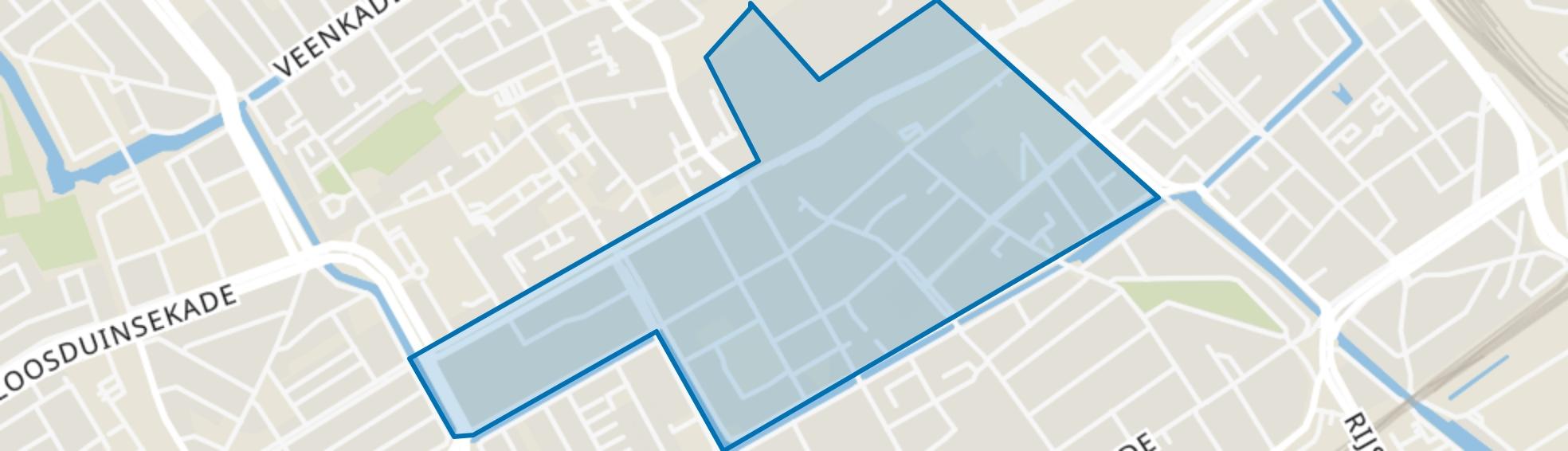 Zuidwal, Den Haag map