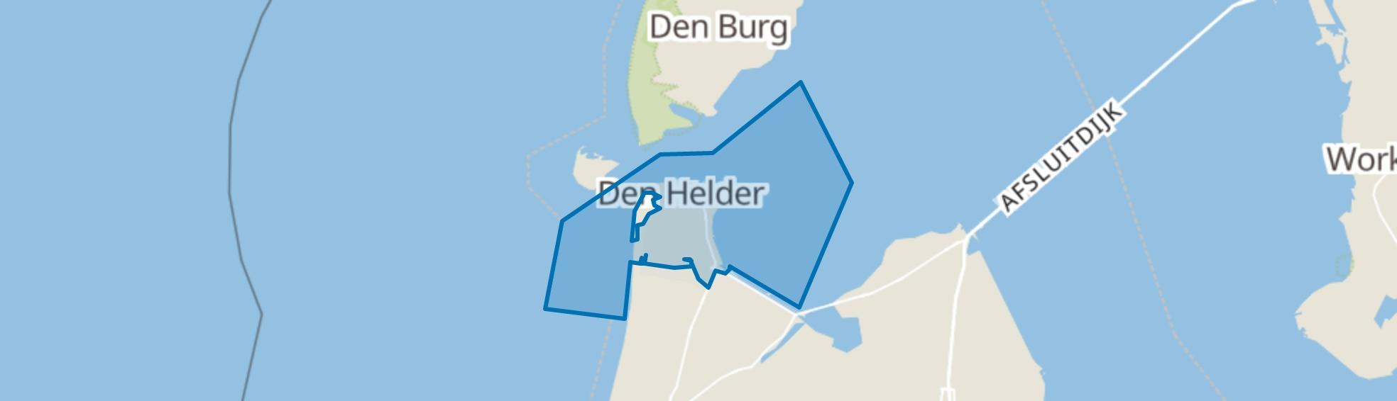 Den Helder map