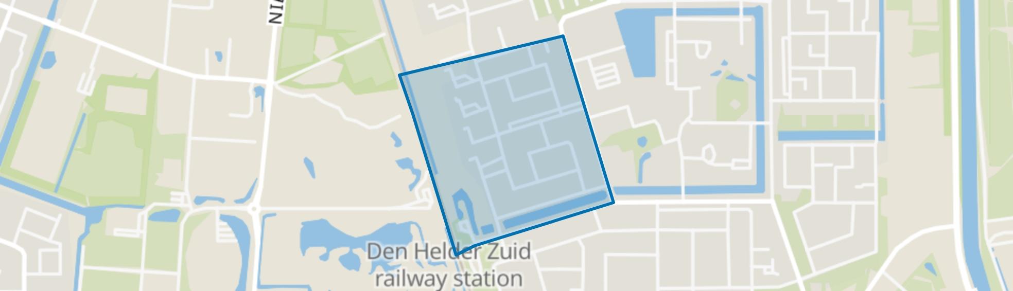 Boerderijbuurt, Den Helder map