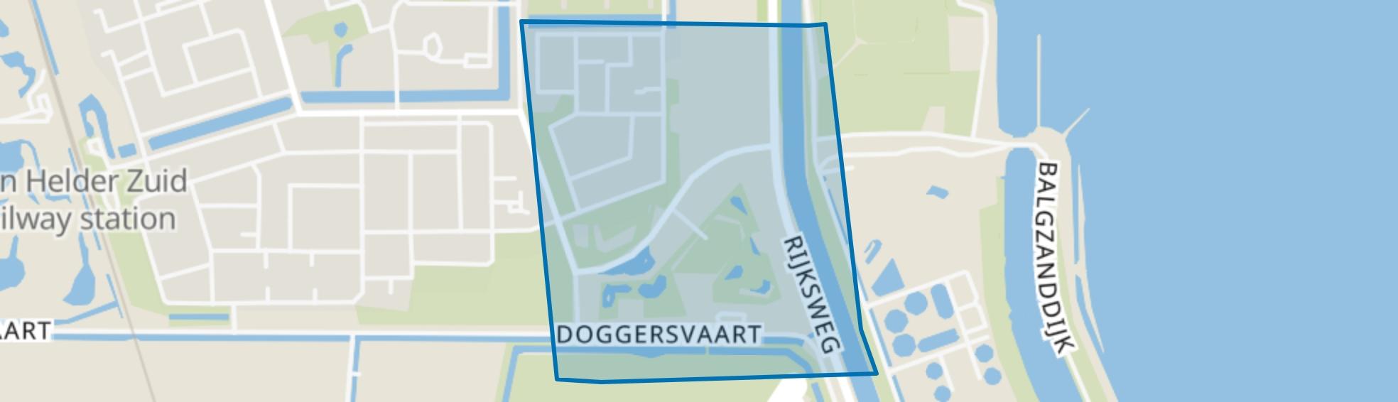 Guldemond, Den Helder map