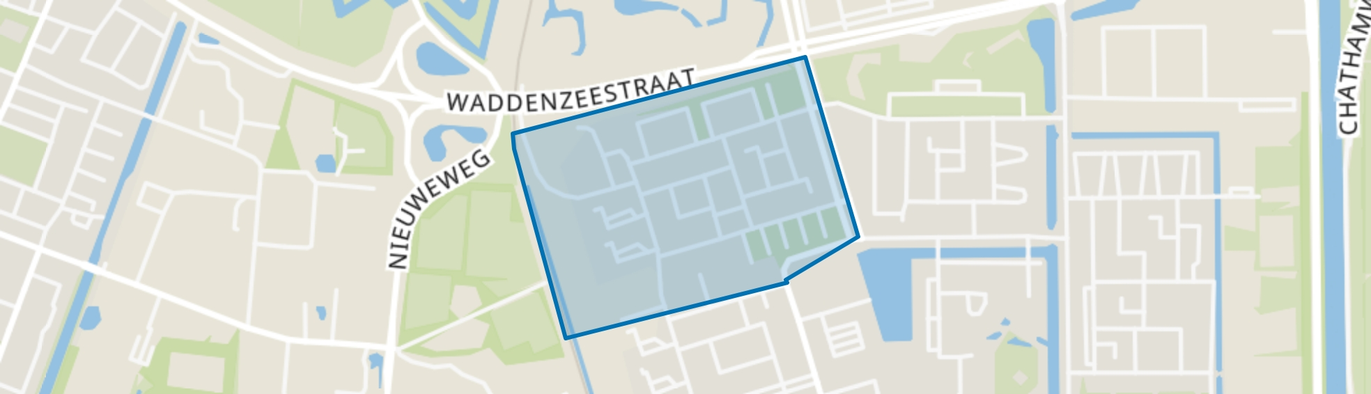 Schouten en Schepenenbuurt, Den Helder map