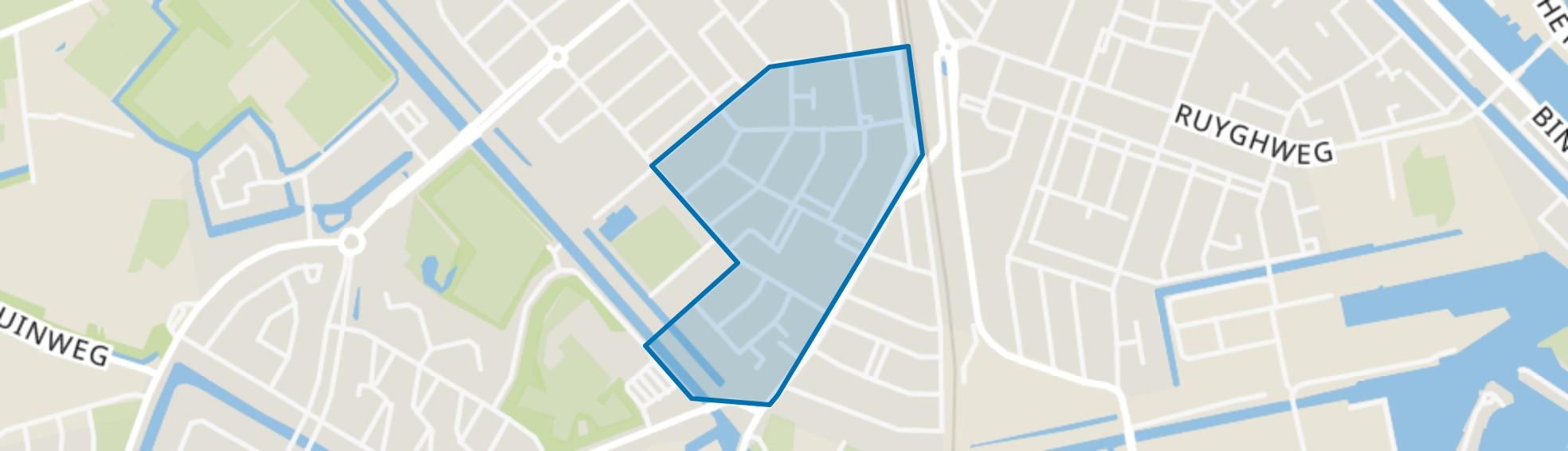 Tuindorp-West, Den Helder map