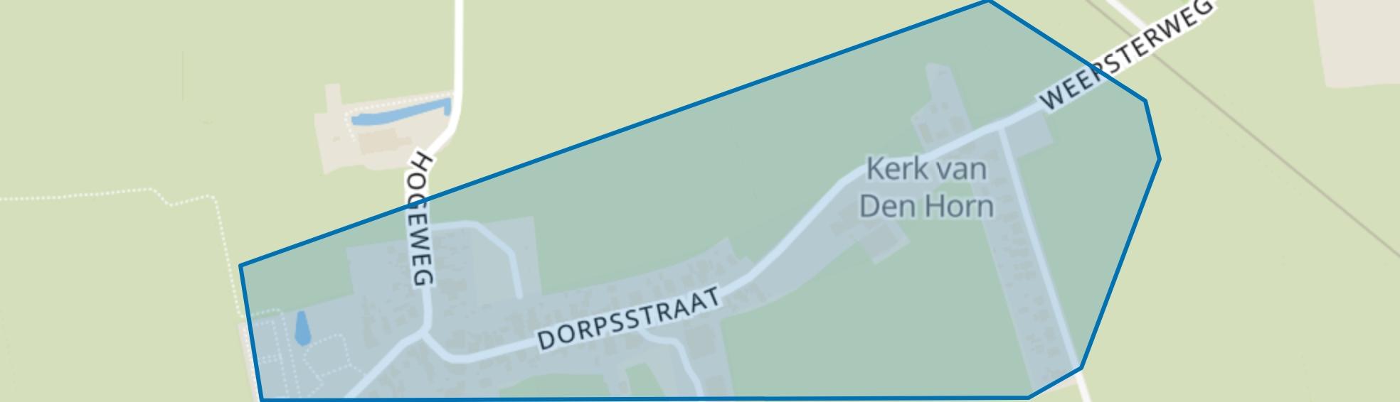 Den Horn, Den Horn map