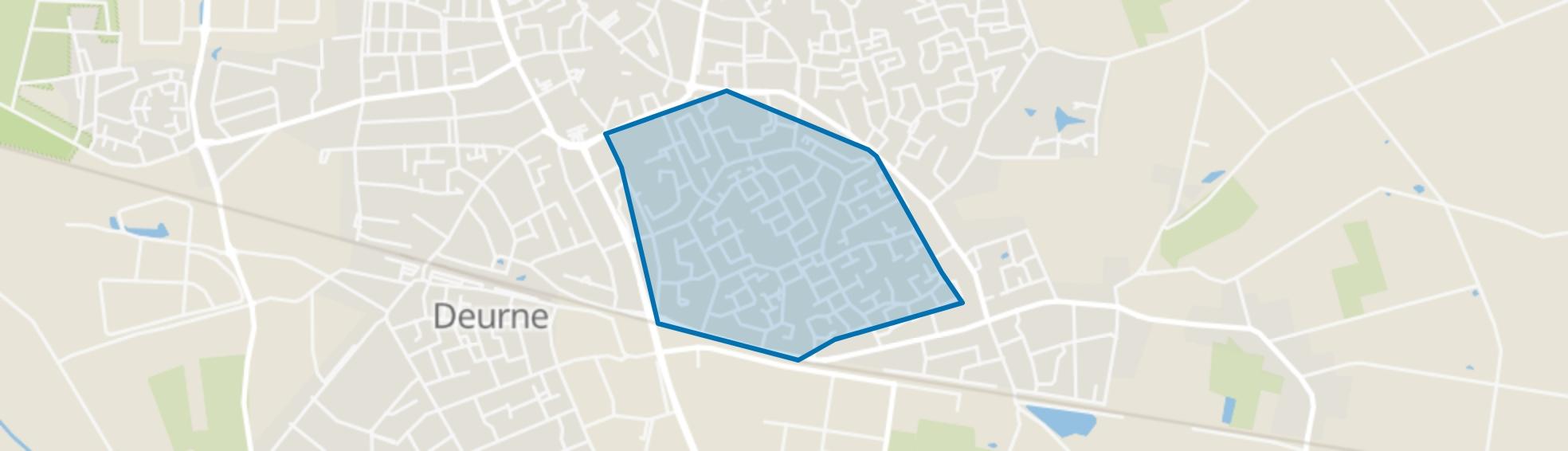 Koolhof, Deurne map