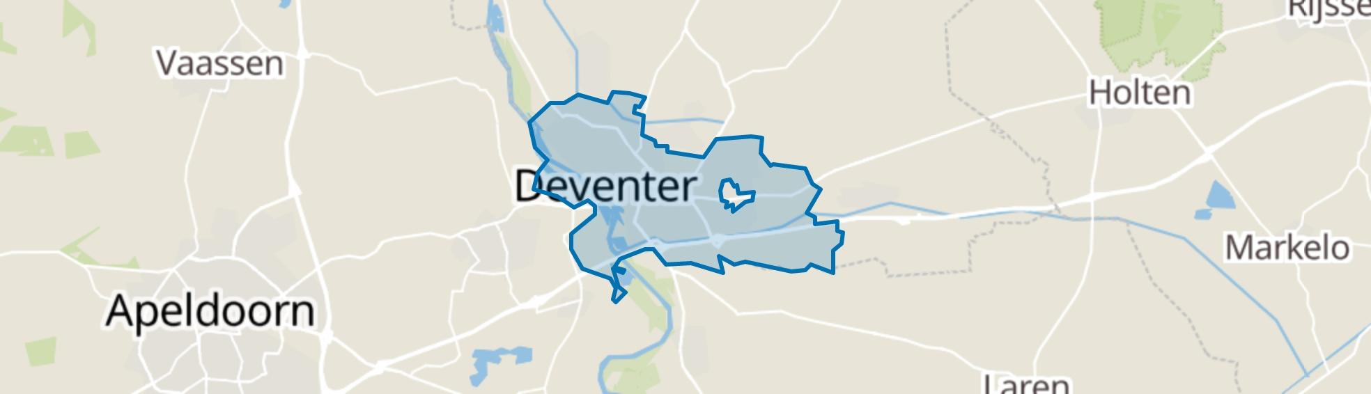 Deventer map