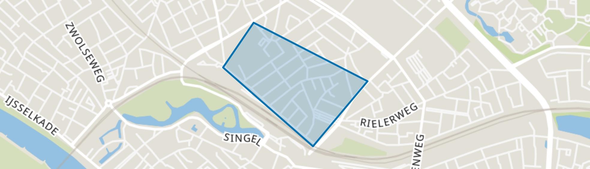 Oosterstraat, Deventer map