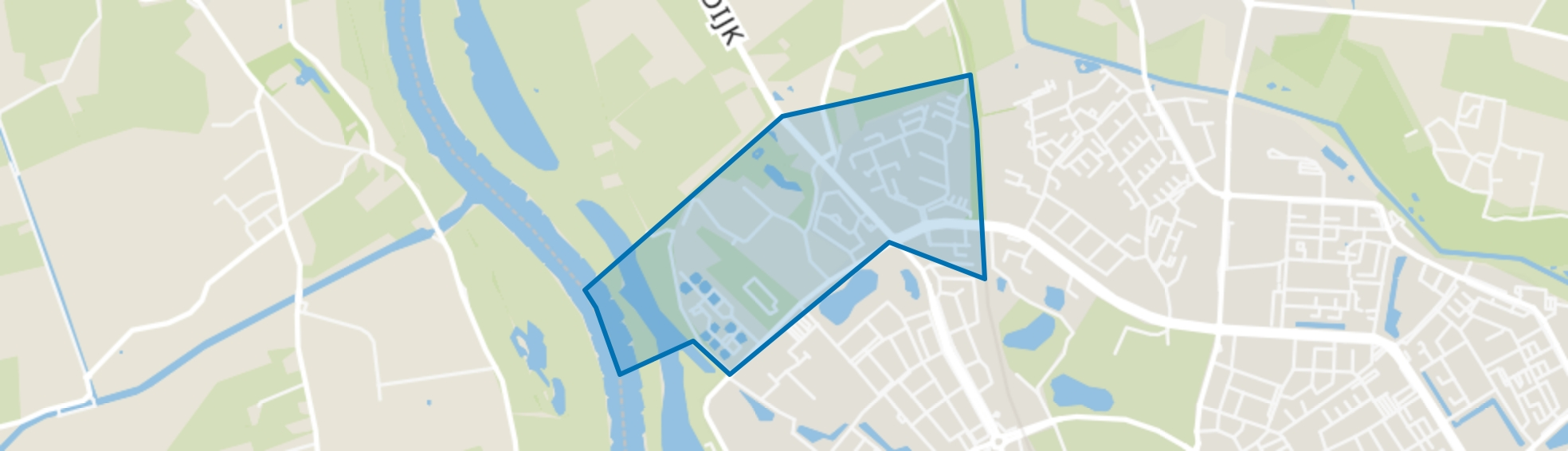 Platvoet, Deventer map