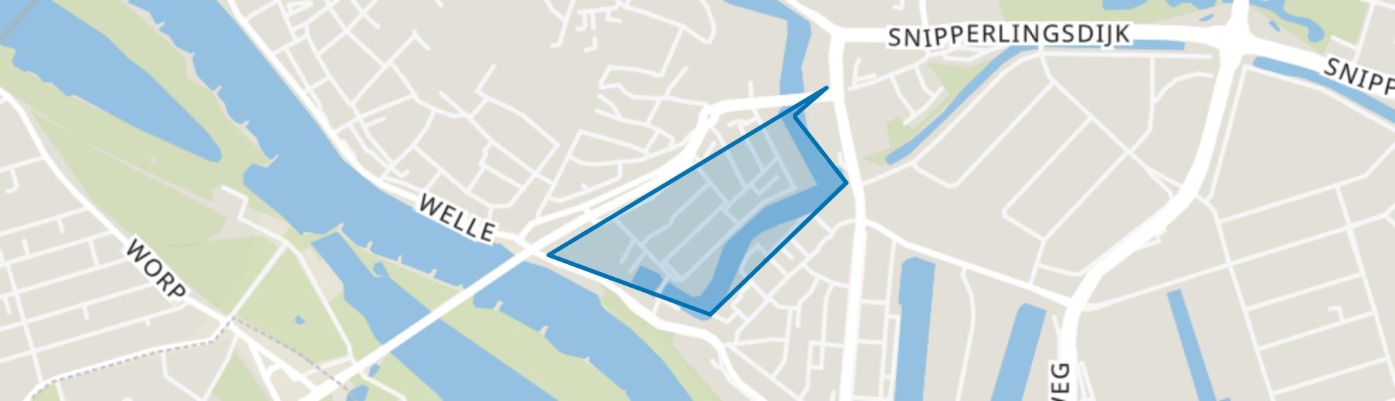 Raambuurt, Deventer map