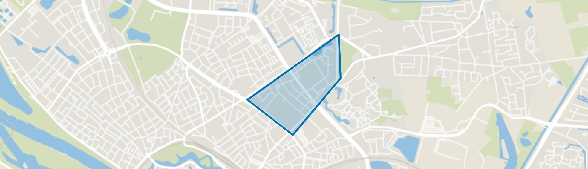 Rollecatekwartier, Deventer map