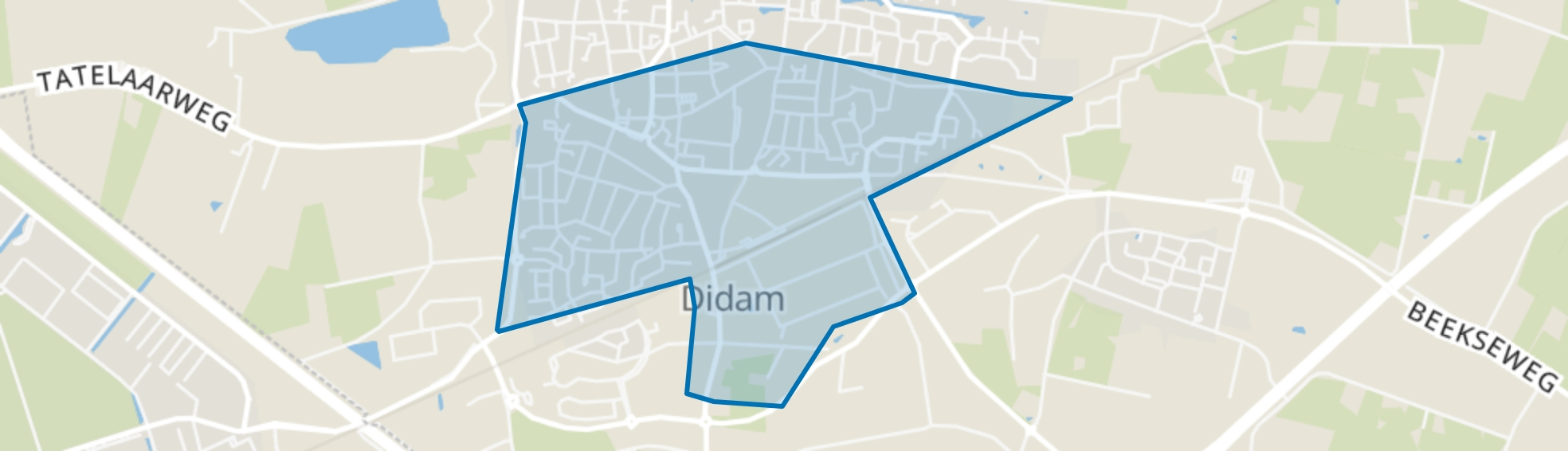 Didam-Zuid, Didam map