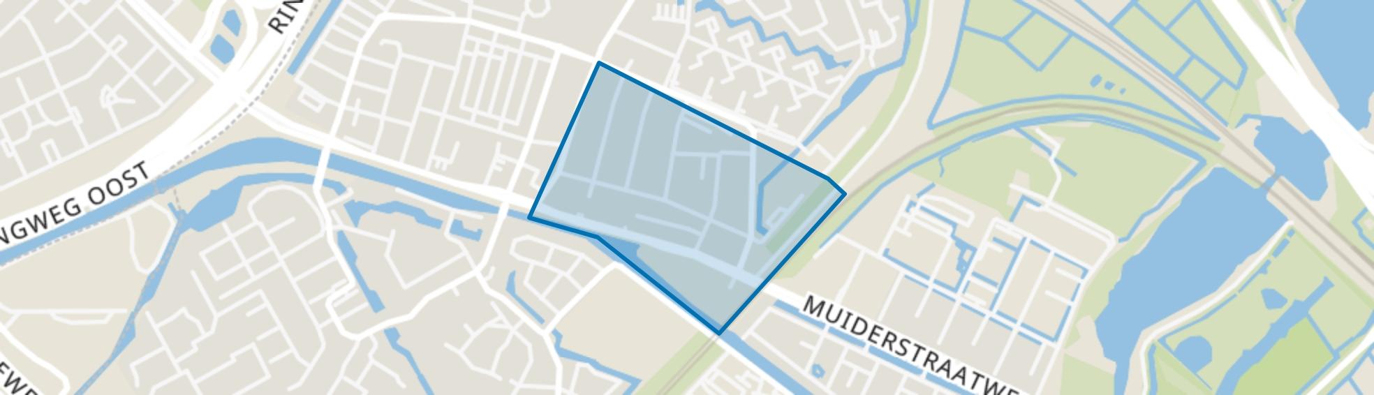 Centrum Oost, Diemen map