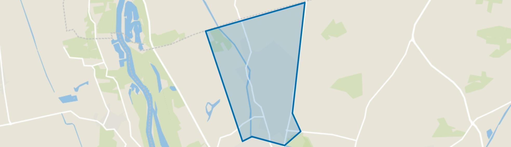 Dorp Diepenveen, Diepenveen map