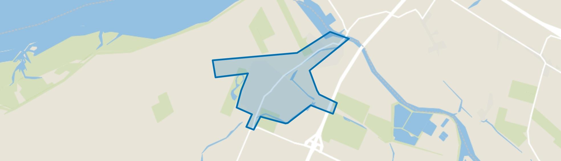Dinteloord, Dinteloord map