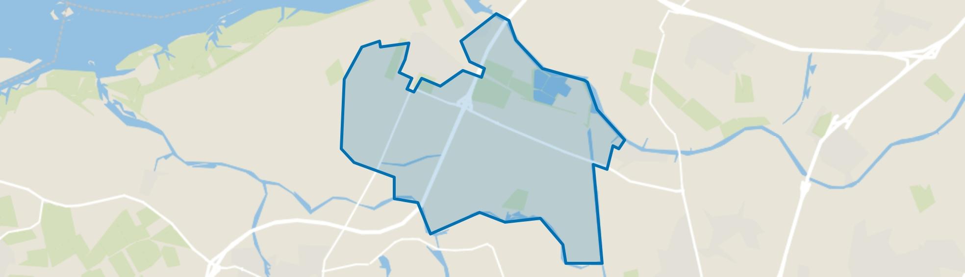 Verspreide huizen in het Oosten, Dinteloord map