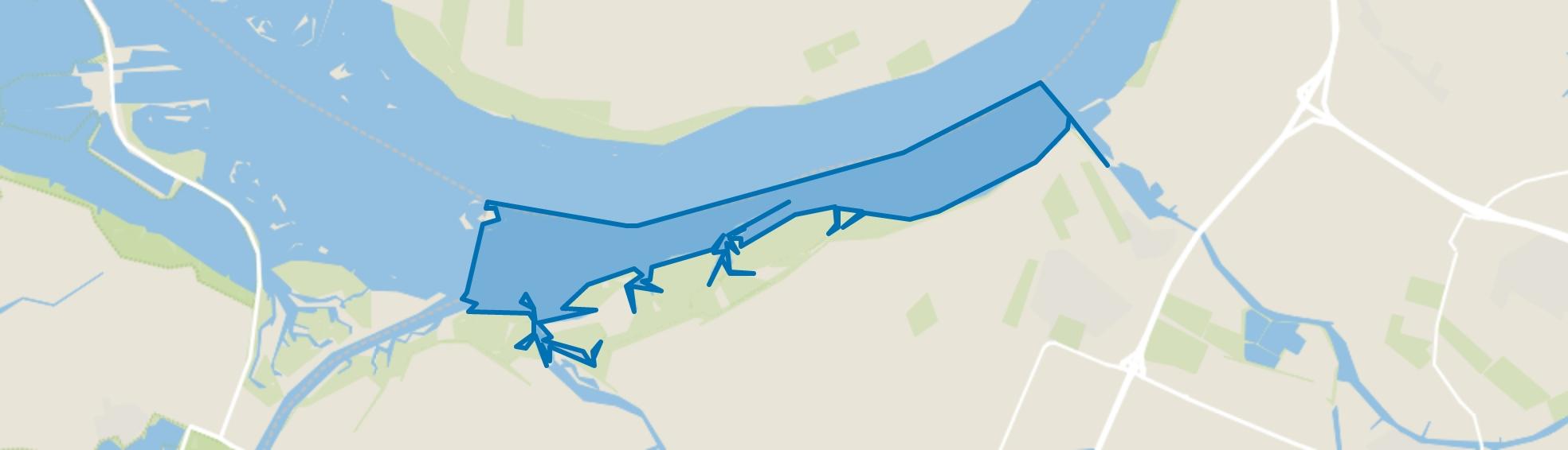 Water, Dinteloord map