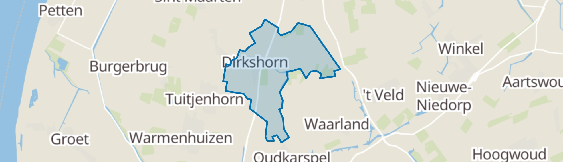 Dirkshorn map