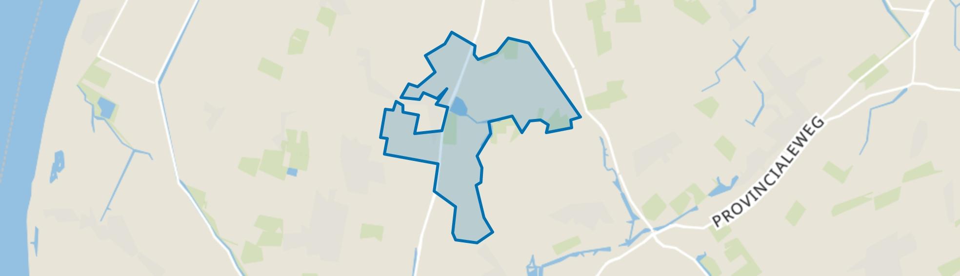 Buitengebied Dirkshorn, Dirkshorn map