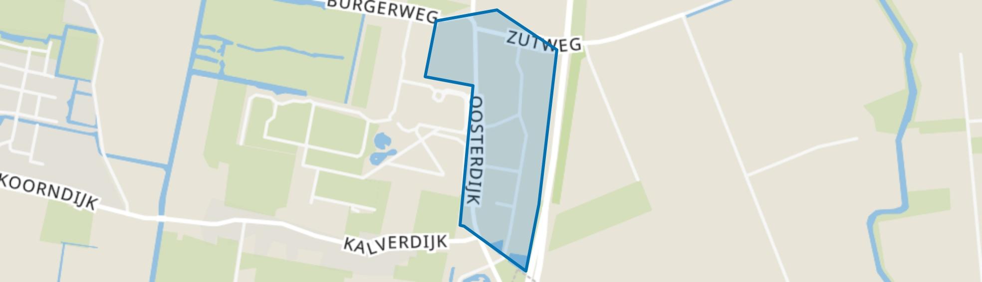 De Banne en omgeving, Dirkshorn map