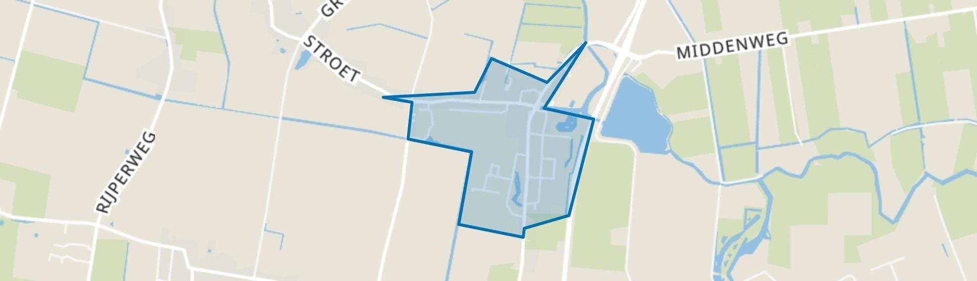 Dirkshorn (woonkern), Dirkshorn map