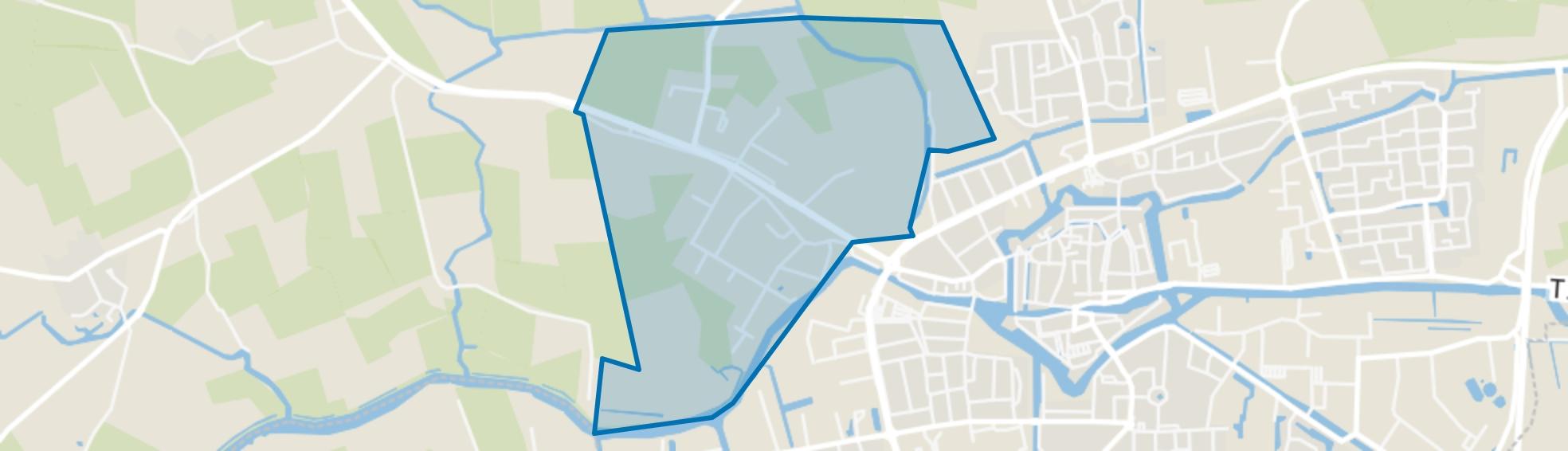 Dokkum Betterwird, Dokkum map