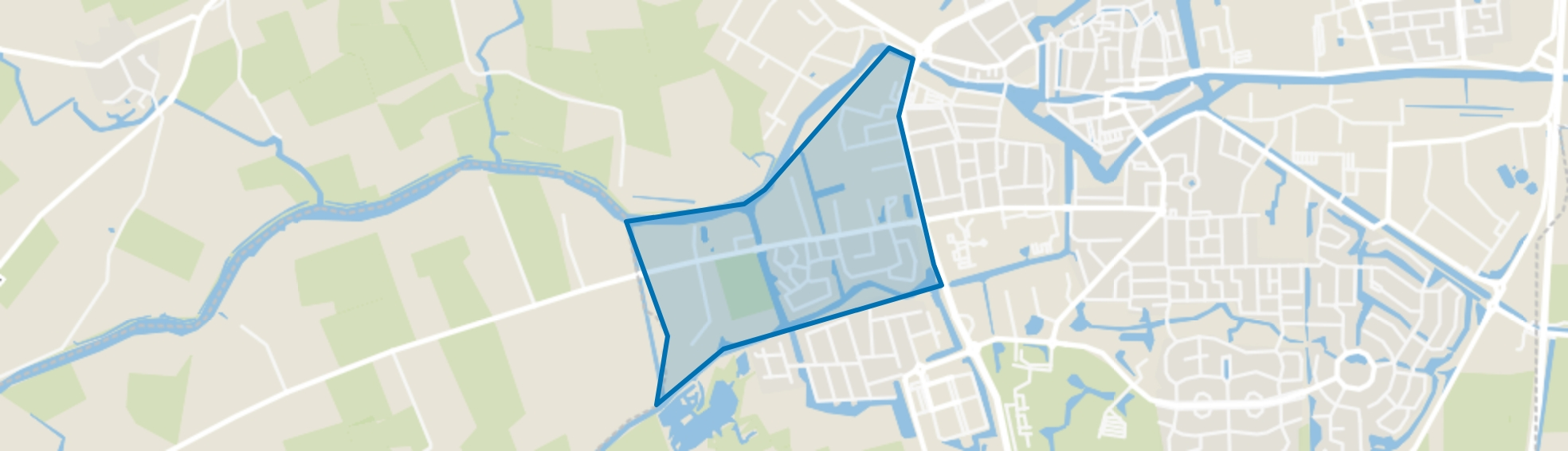 Dokkum De Woudhorne, Dokkum map