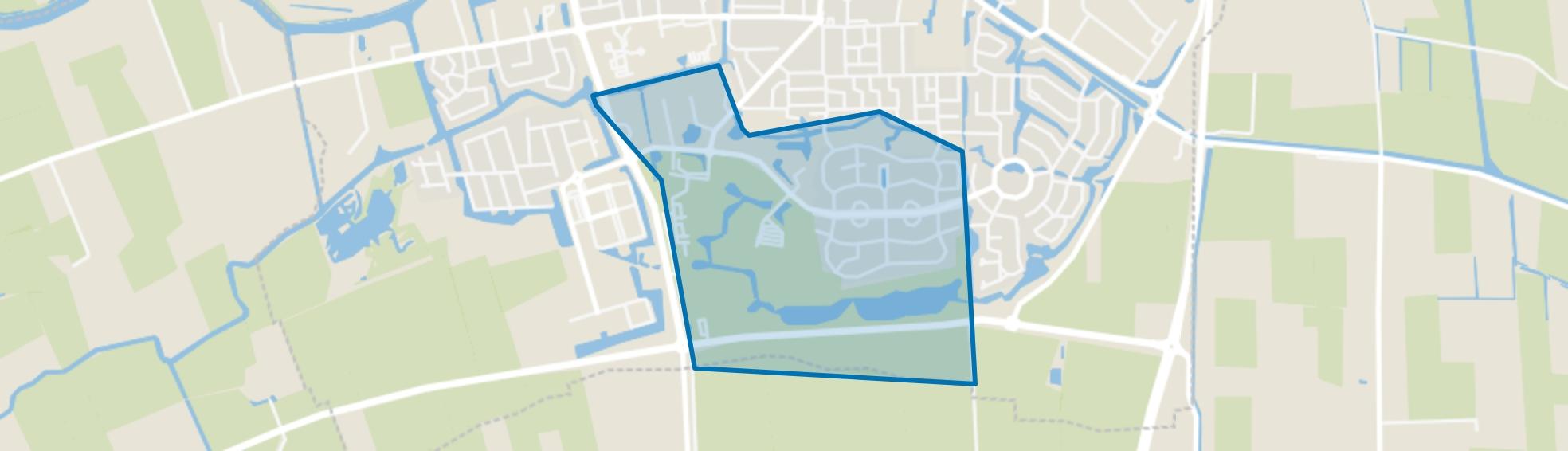 Dokkum Jantjeszeepolder, Dokkum map