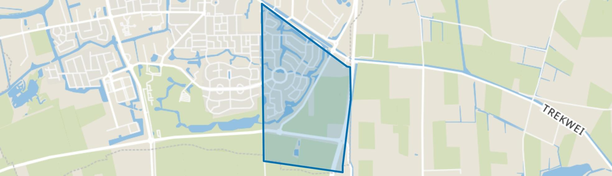 Dokkum Kooilanden, Dokkum map
