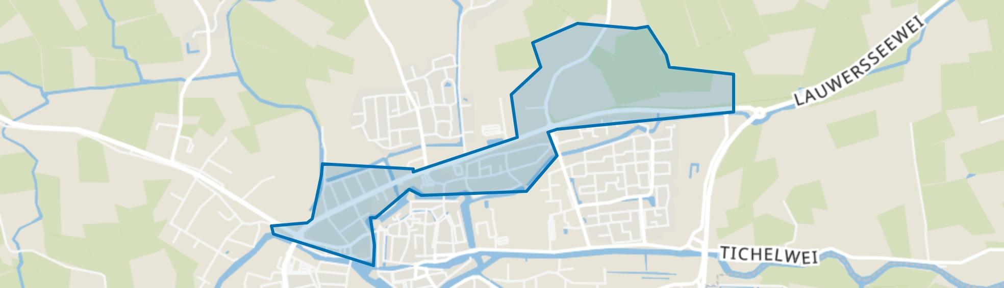 Dokkum Noord, Dokkum map