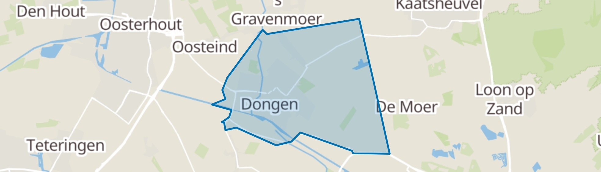 Dongen map