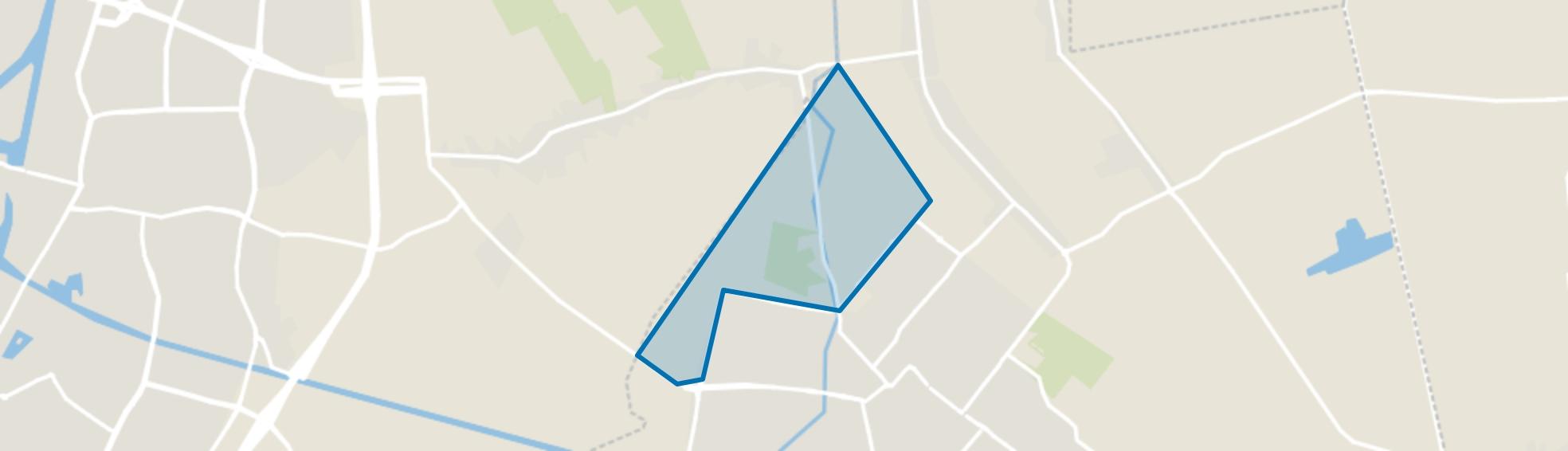 Buitengebied West 2, Dongen map