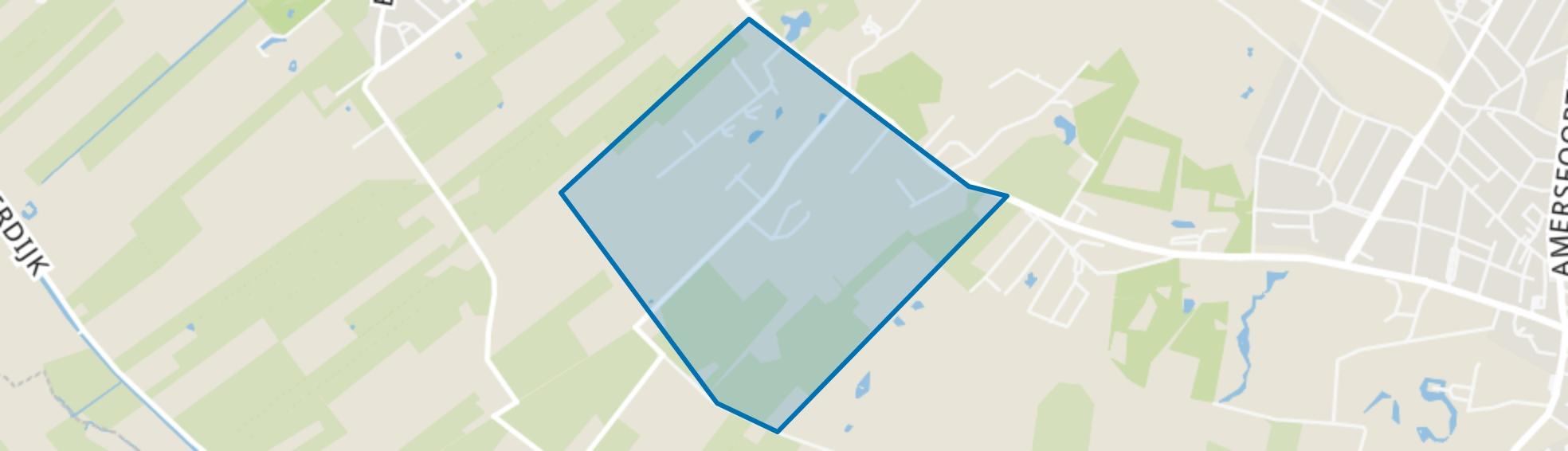 Oudeweg, Doorn map